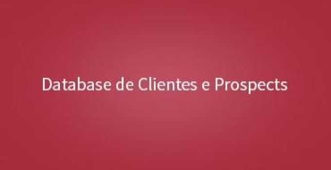 Database de Clientes e Prospects