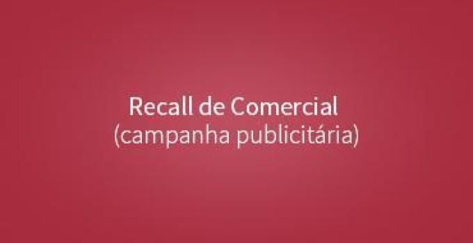 Recall de Comercial