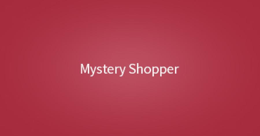 Pesquisa de Mystery Shopper ou cliente oculto