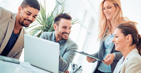 Melhorando a comunicação empresarial da empresa