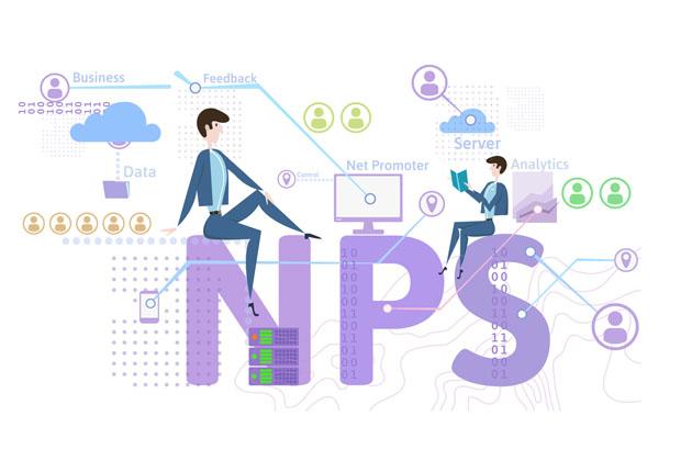 O NPS avalia o nível de satisfação dos clientes